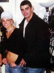 Britney Spears and Jason Alexander