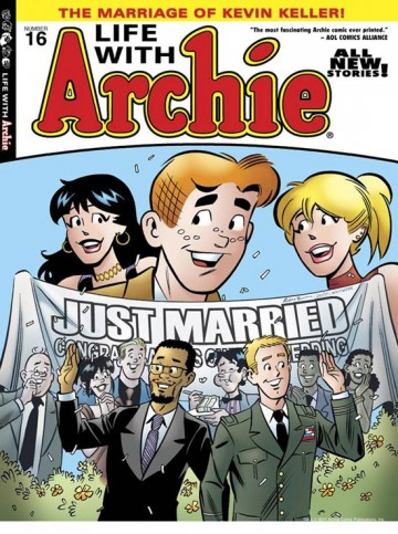 The cover of Life with Archie #16