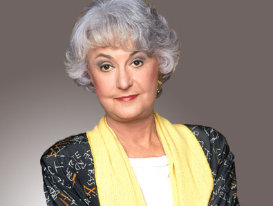 Bea arthur is not your grandmother drew 39 s soapbox for Why did bea arthur leave golden girls