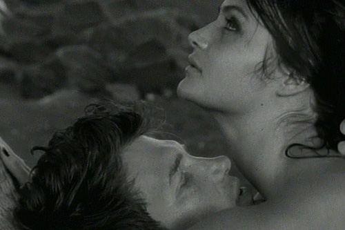 Chris Isaac and Helena Christenssen in Wicked Game