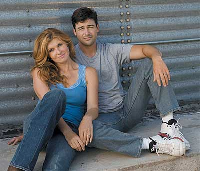 Tami and Eric Taylor from FNL